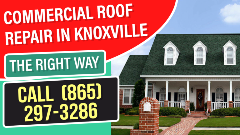 Commercial Roof Repair Knoxville TN