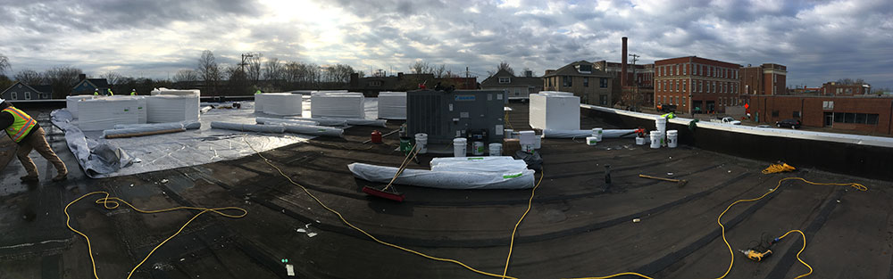 Knoxville-TN-Commercial-Roof-panorama-of-commercial-roof
