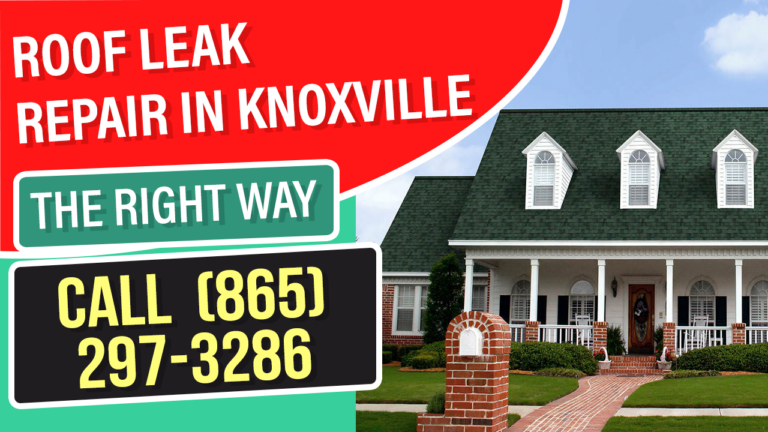 Knoxville TN Roof Leak Repair