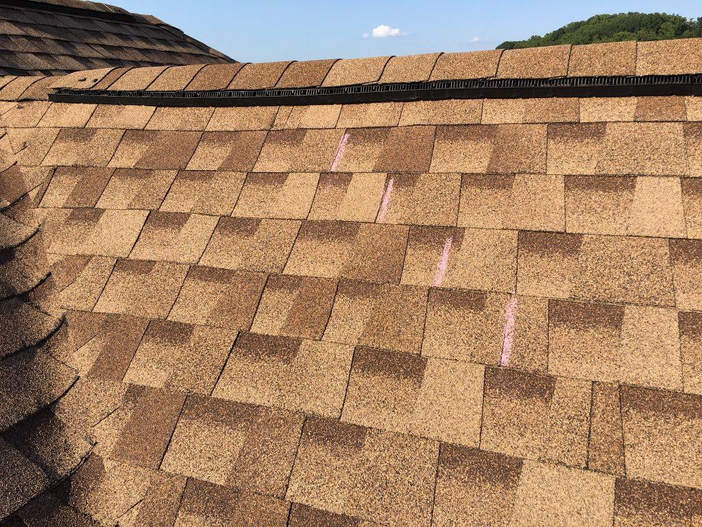 GAF Shingles Laid and Nailed Correctly