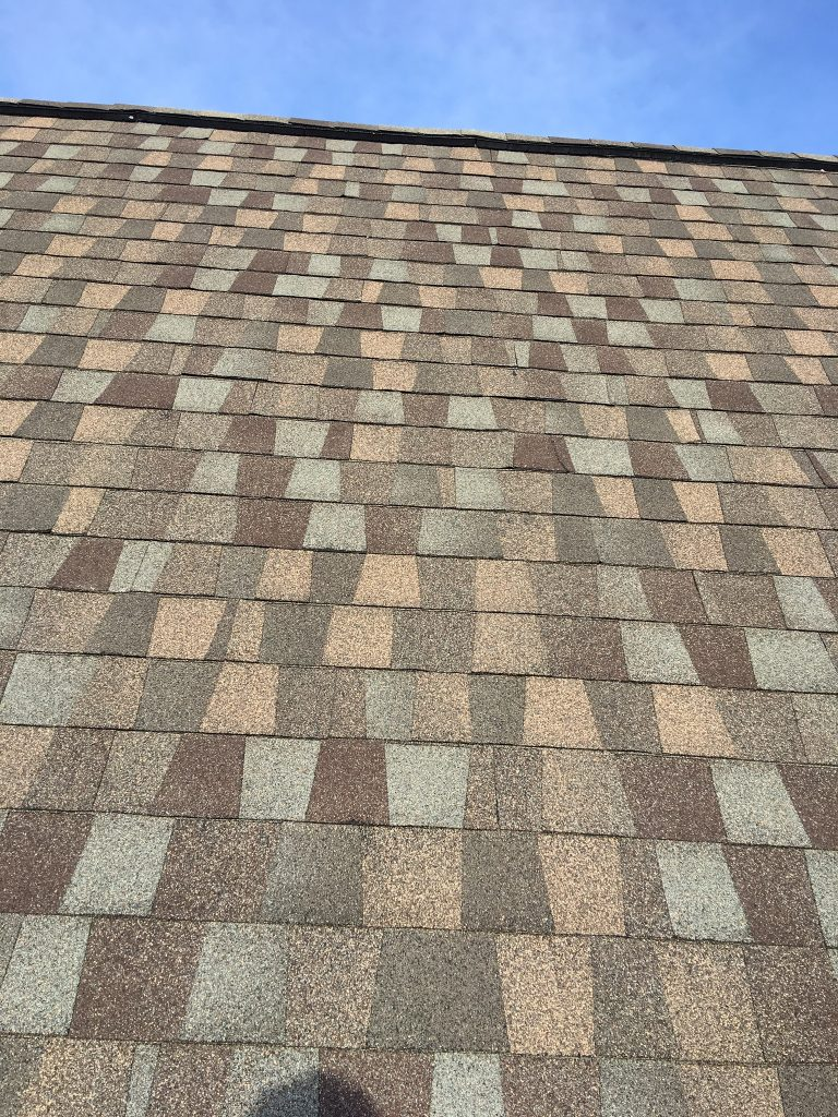 This is a picture of GAF Timberline American Harvest on the roof.