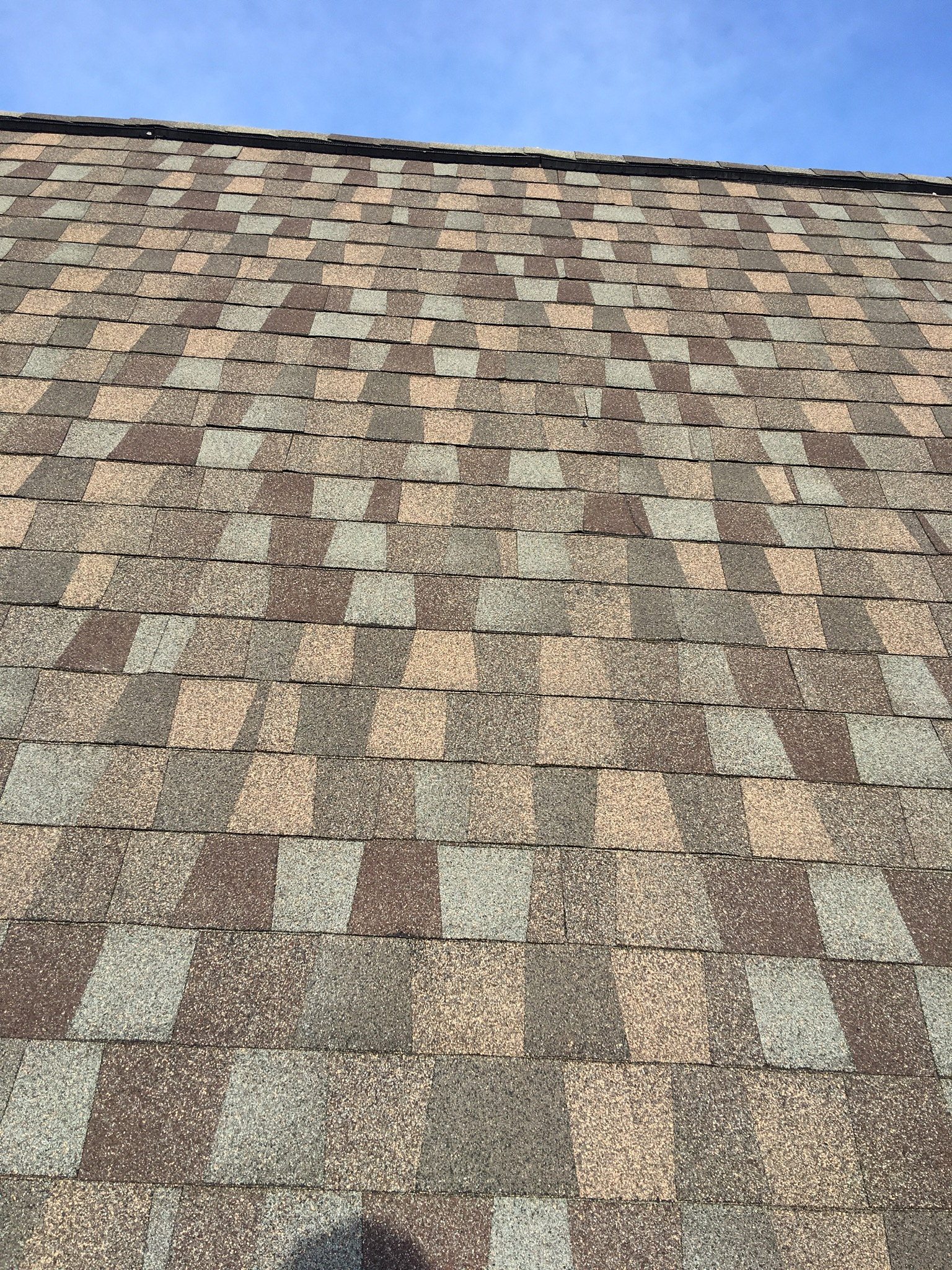 This is the GAF American Harvest shingle installed on the roof.