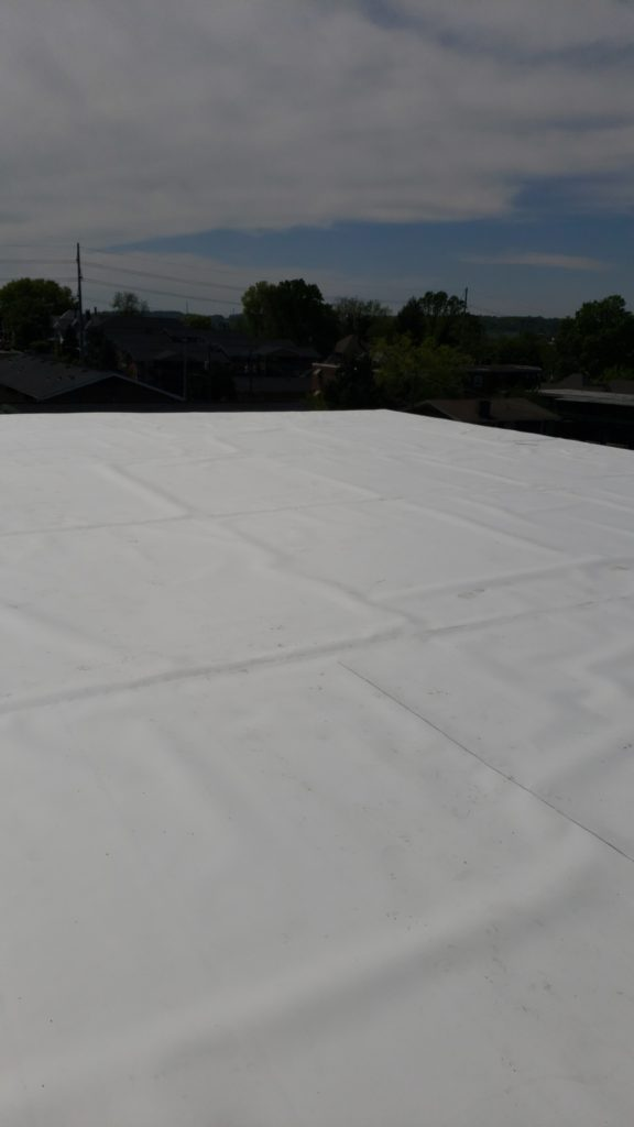 TPO Roof installed