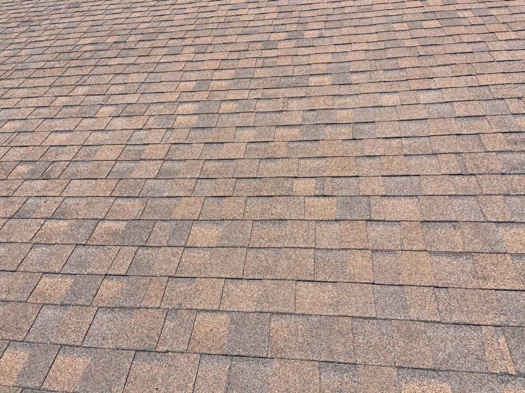 Blistered Dimensional shingles at Club House