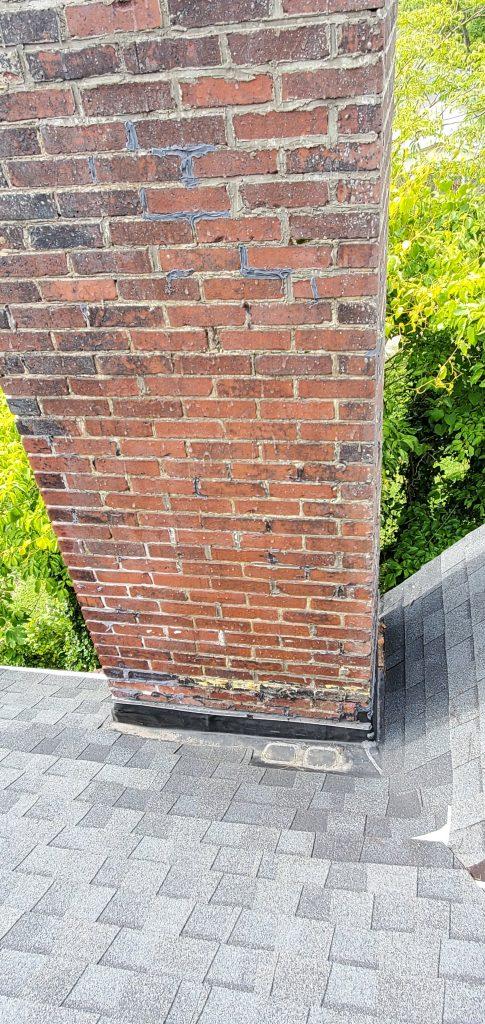 Brick and mortar soaking up water