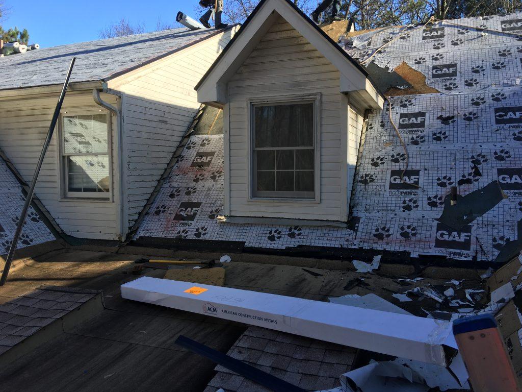 GAF Golden Pledge Warranty Stops at Flat Roof
