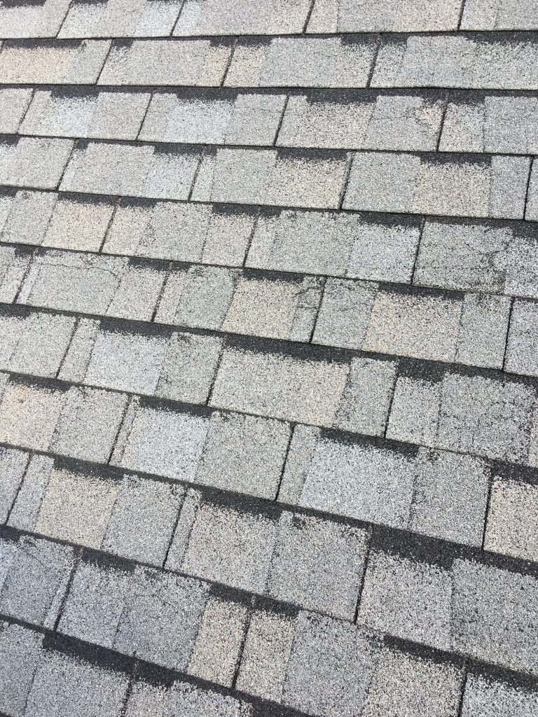 Defective Laminated 3 Tab Shingles