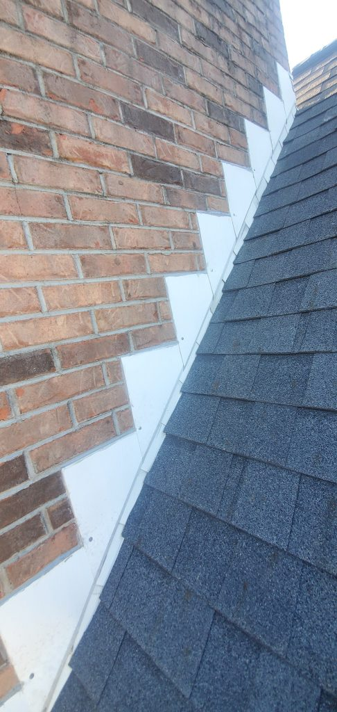 Leaking Chimney Repaired by GAF Master Elite Contractor