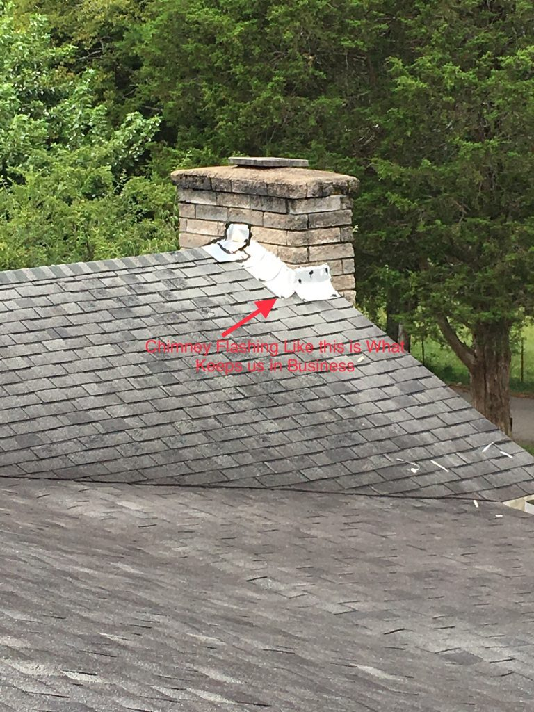 GAF Master Elite Contractor Repairs Chimney Flashing