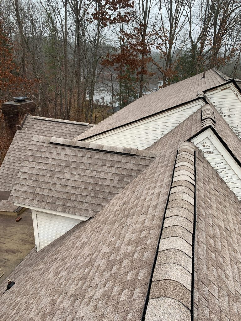 GAF Golden Pledge Warranty on Storm Damaged Roof
