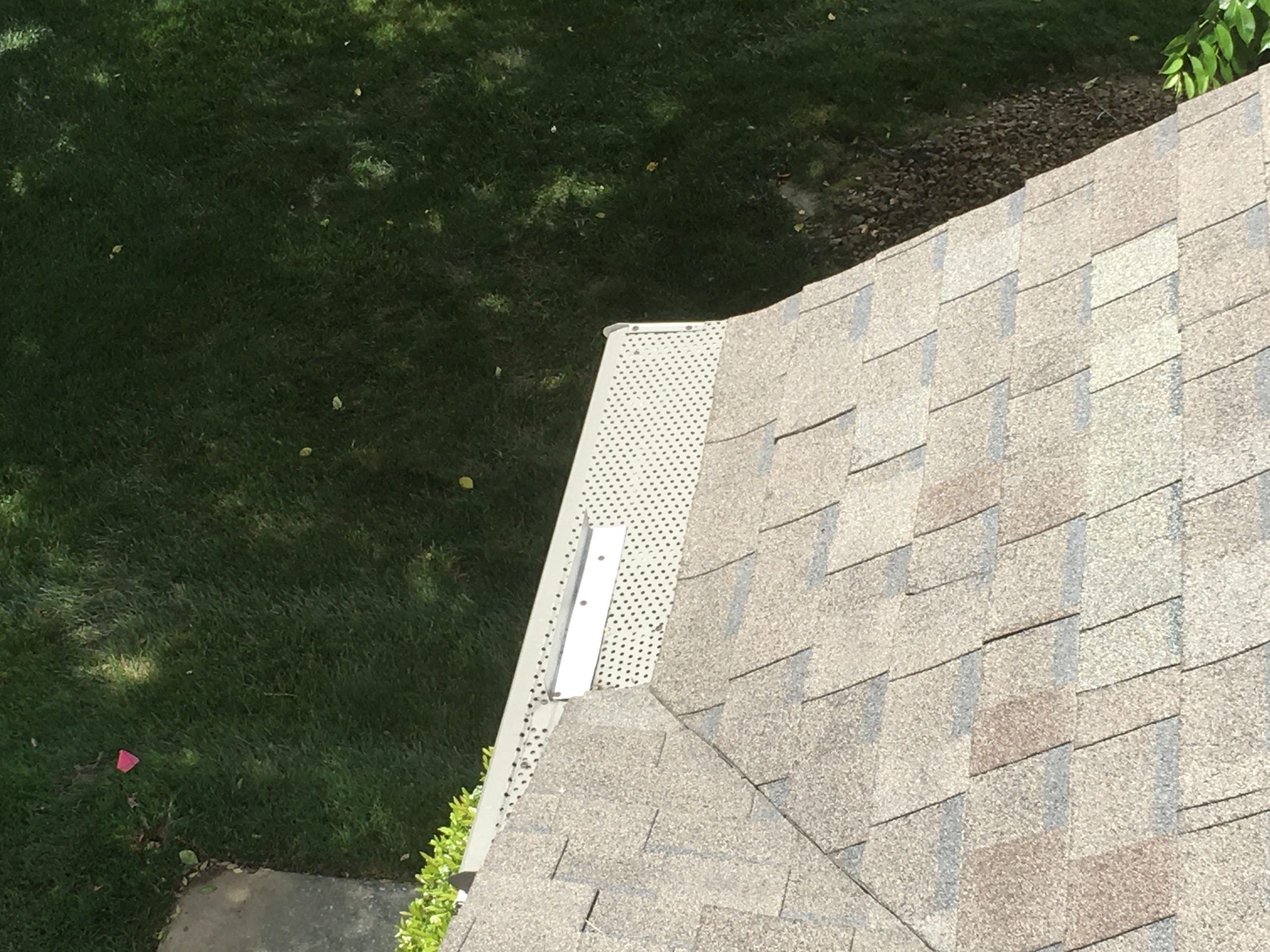 this is a picture of gutter guards