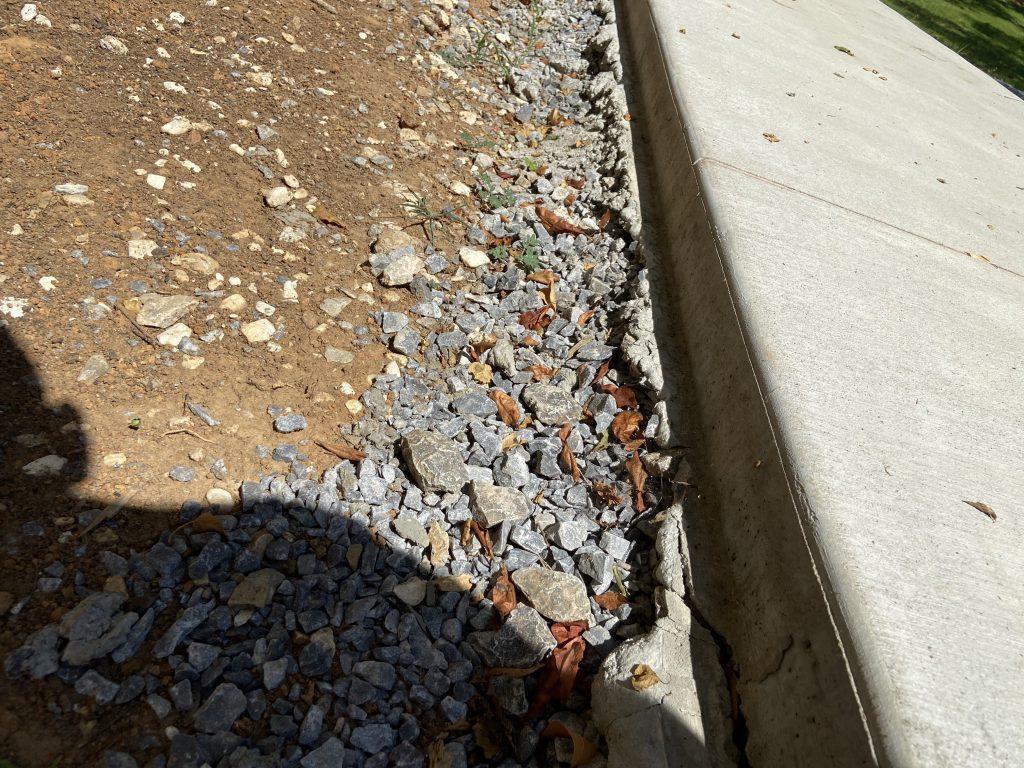 Concrete walkpaths