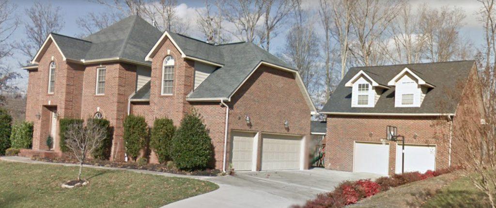 Improper installation of porch addition roof