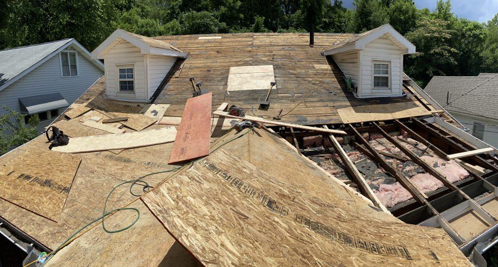 Relacing vs Repair an Old Roof Deck