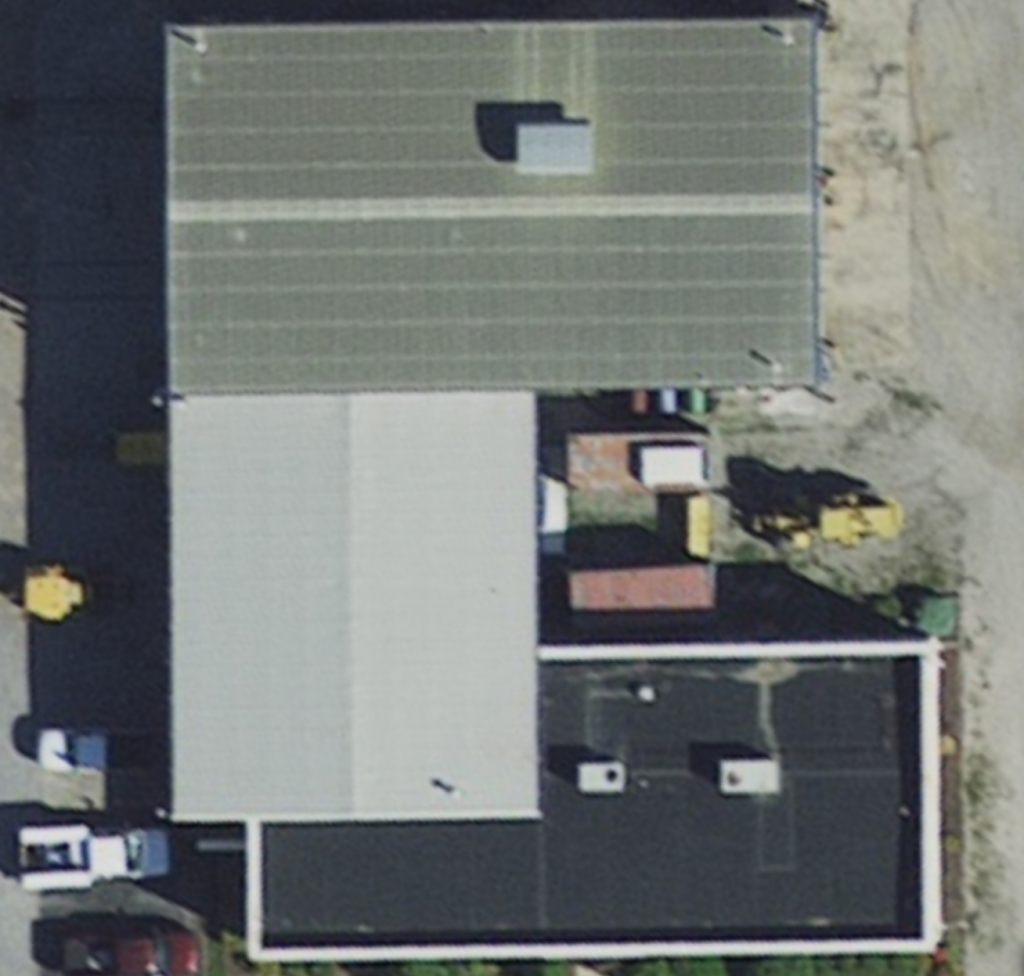 Commercial Building with Roof Leak.