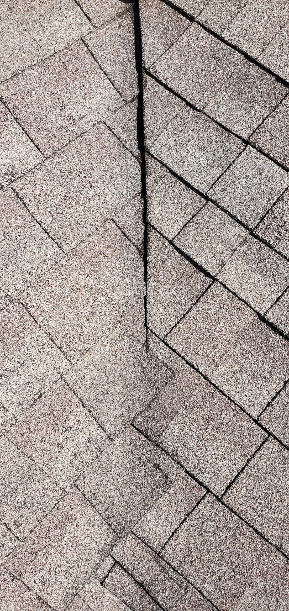 this is a picture of the valley of an old dimensional shingle in sevierville tn