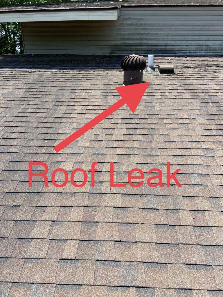 Leaking Roof Penetrations