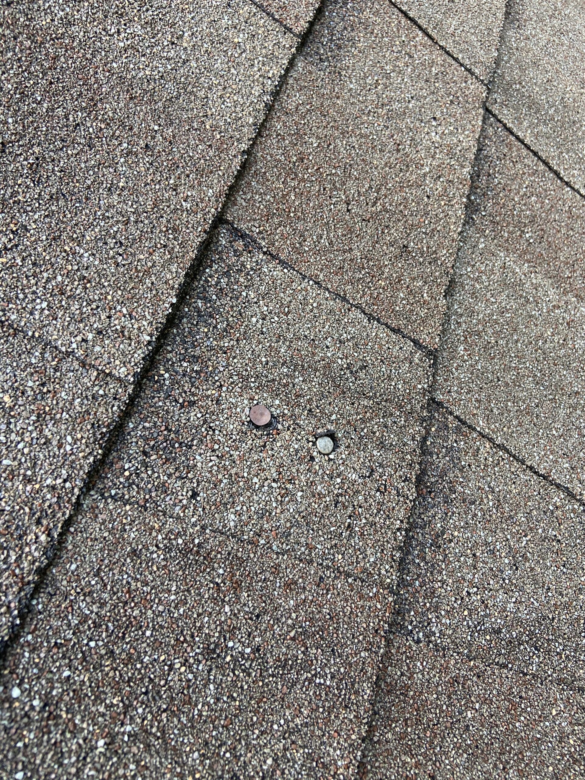 Nails poping causing roof leaks