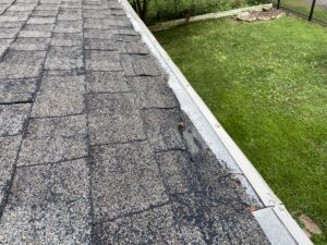 Broken Roof Shingles