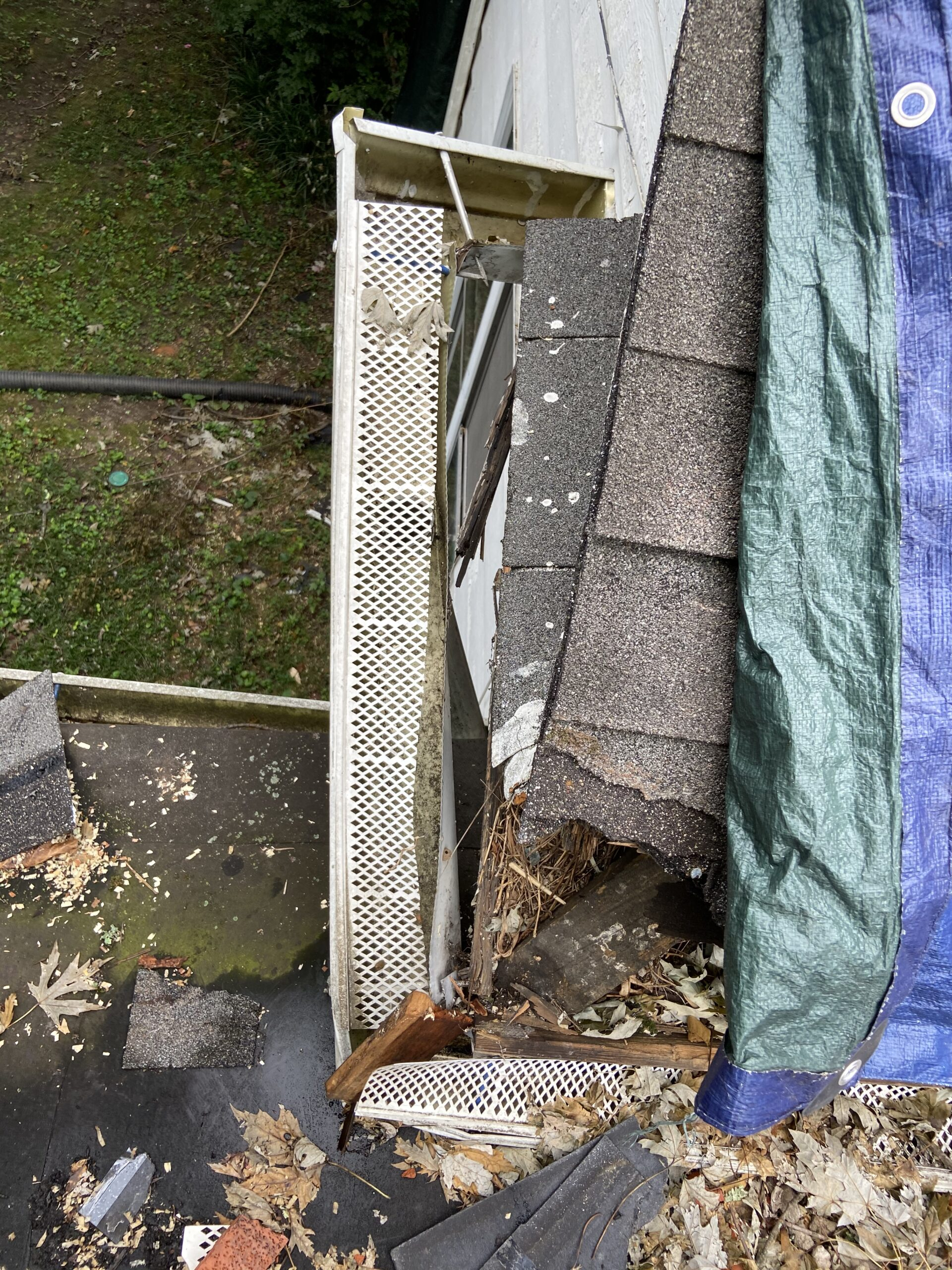 Gutter and Roof Edge Damages