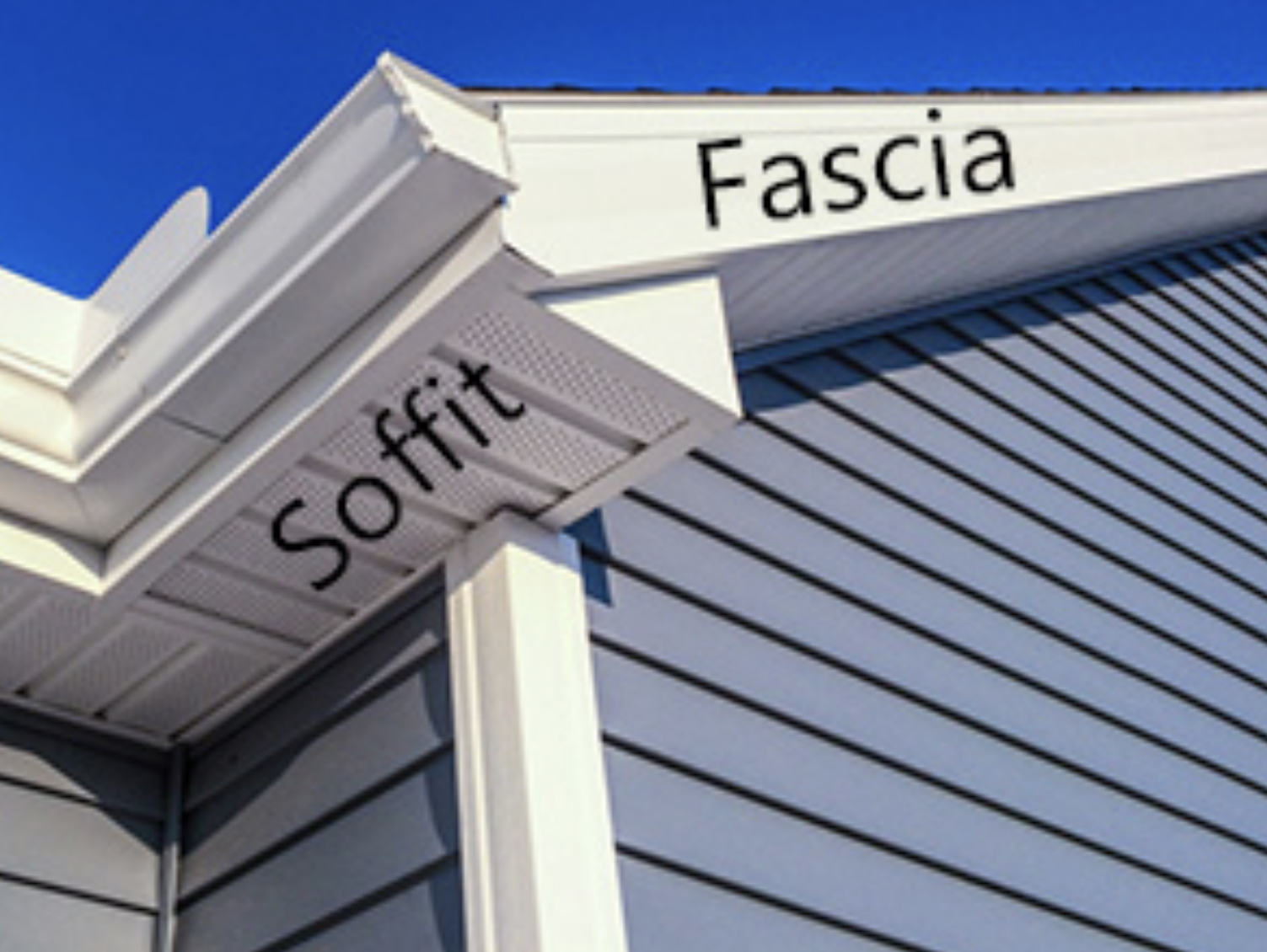 Soffit, facia metal and gutter systems are not only attractive, but also very practical. They serve as a protector for your facia wood and also retain the soffit vinyl giving it a nice finished look