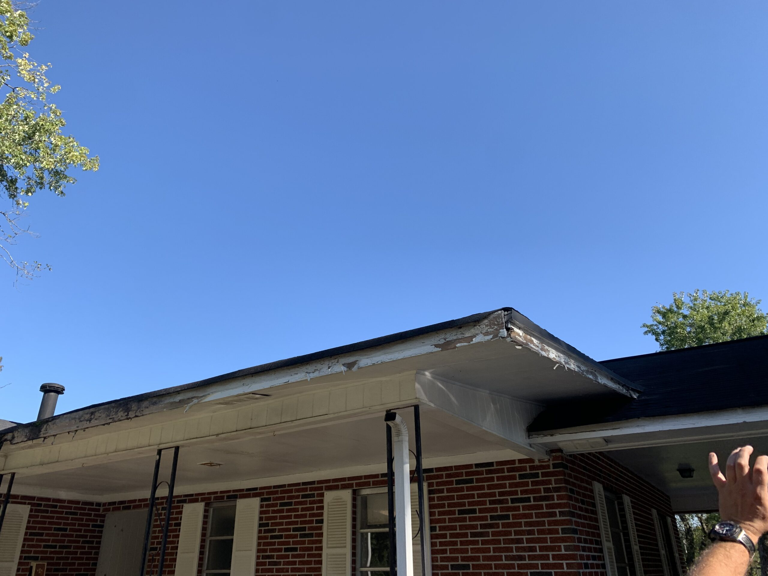 New gutters will be needed