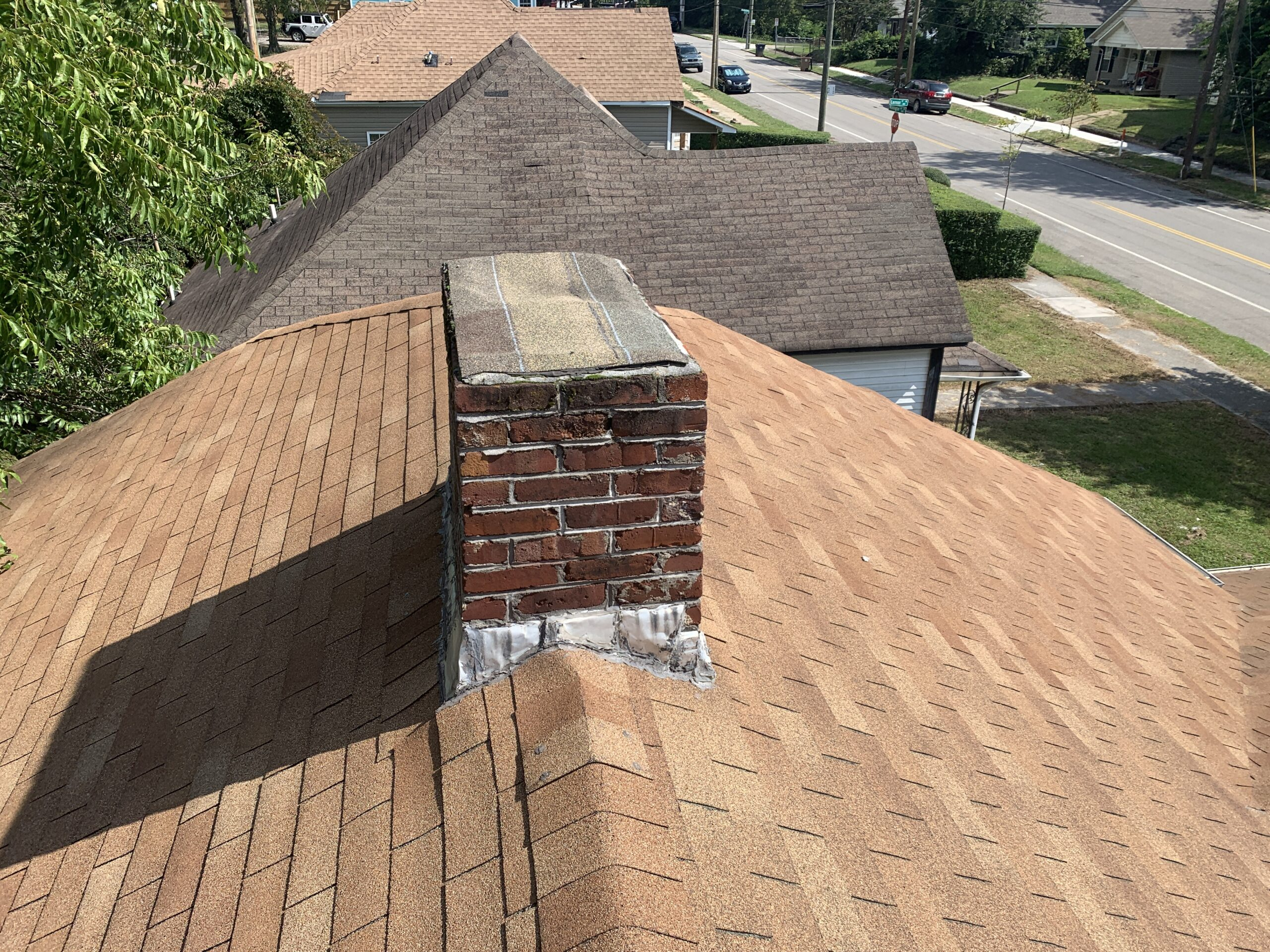 Chimney removal is recommended when the chimney is no longer in use. The less penetrations the better on your roof