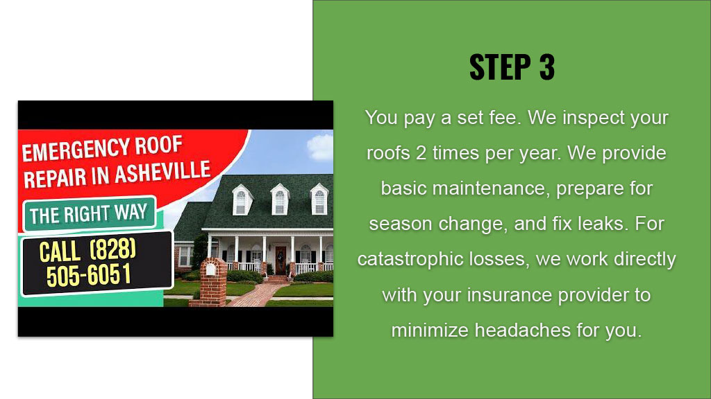 Knoxville HOA Roof Service