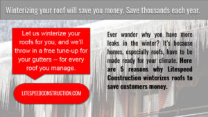 Knoxville TN - Winterize Your Commercial Roof