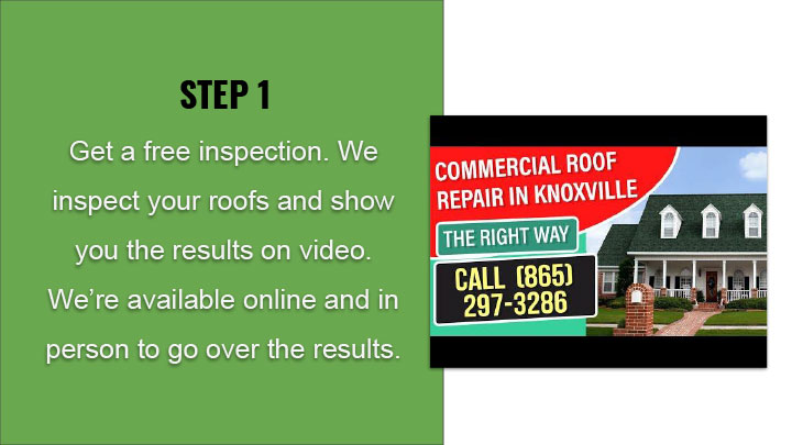 Knoxville Apartment Roof Service