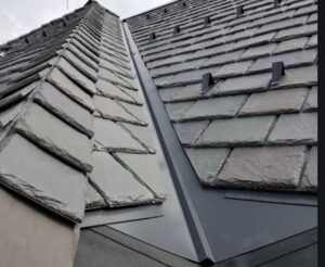 The house is very old. built around 1900. It currently has two layers of shingles and some active leaks. We are considering applying Davinci Slate look shingles