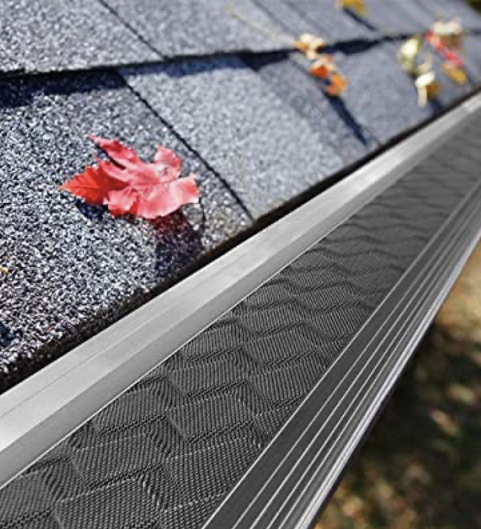 Gutter guards can help protect against clogs and water damage to facia, soffit, eaves and other parts of the house