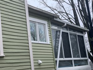 Nonfunctional downspouts can create problems with siding, windows and the foundations