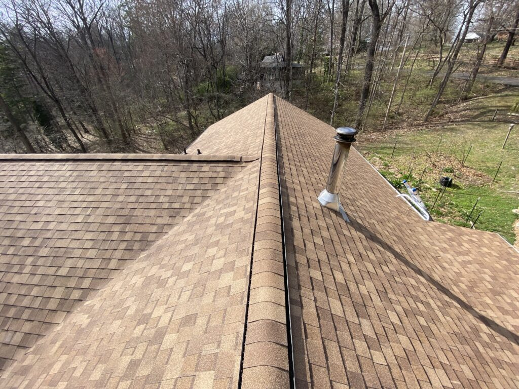 This is a picture of a sandy color atlas roof