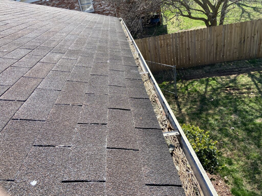 Roof leaks can get caused by full gutters