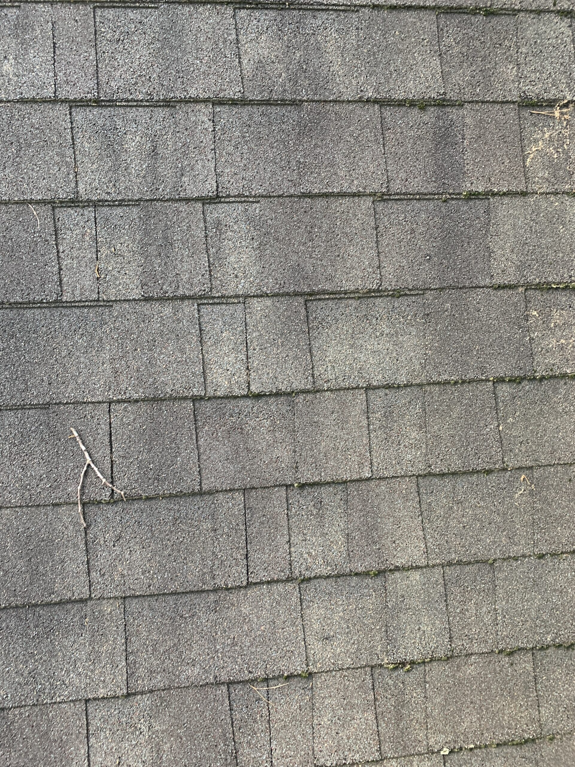 Stagger on this shingle roof is incorrectly staggered
