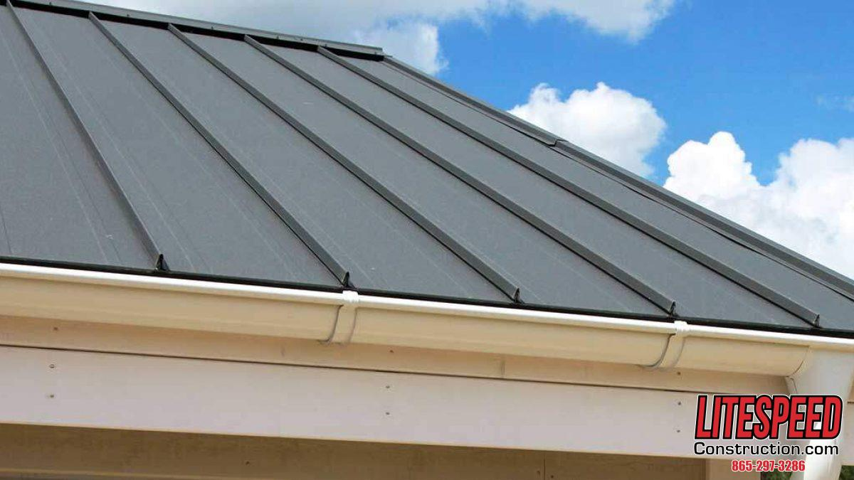 Photo of Shingle Roof - Classic Ribbed Standing Seam Metal Roof In Knoxville, TN Proposed