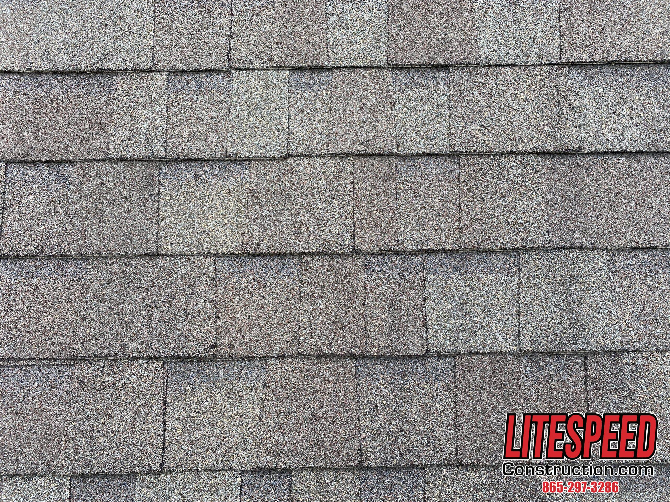This is a picture of shingles that have been staggered correctly