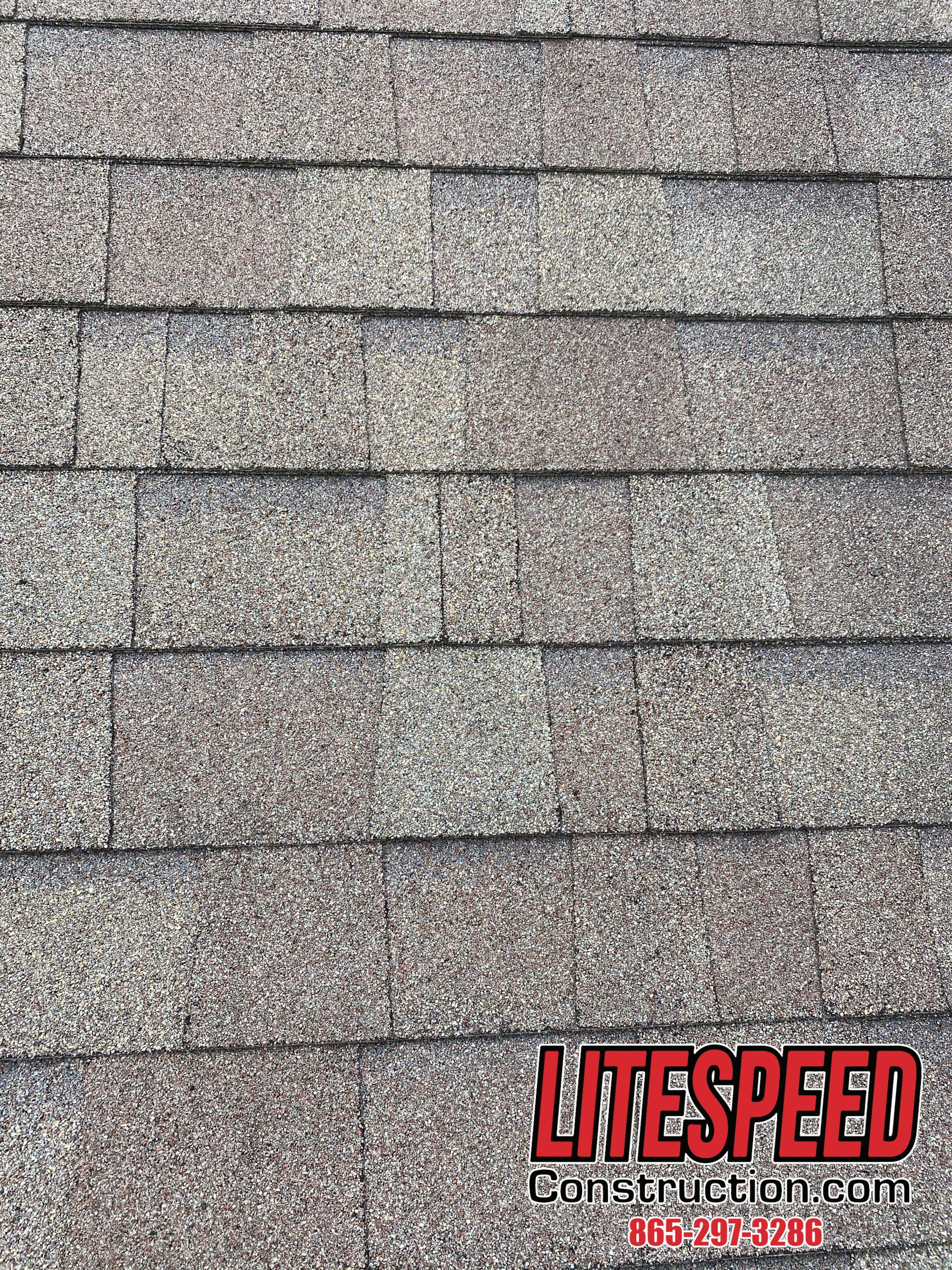 This is a picture of shingles that are correctly staggered