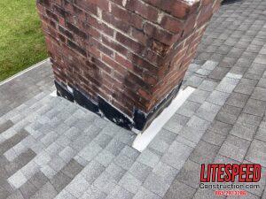Brick chimney needs new flashing