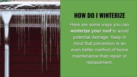 How To Winterize Your Roof - Roof Repair in Knoxville, TN