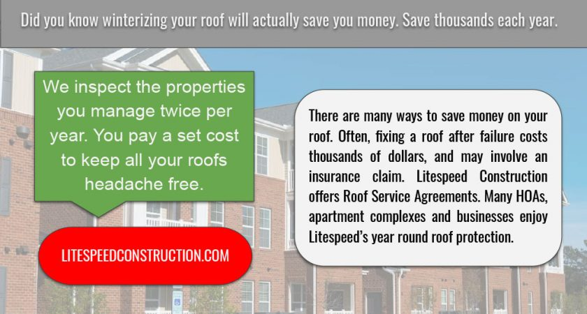 Knoxville Roof Service Agreement